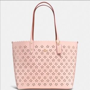 Coach Floral Cut Out Tote!!!